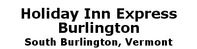 Holiday Inn Express - Burlington | South Burlington, VT