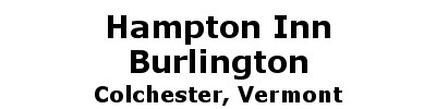 Hampton Inn Burlington | Colchester, VT