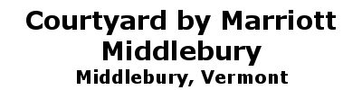 Courtyard by Marriott - Middlebury | Middlebury, VT
