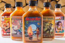Silk City Hot Sauce - Triple Threat Hot Sauce Trio