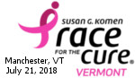 Komen Vt. Race for the Cure