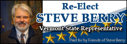 Re-Elect Steve Berry for Vermont State Representative