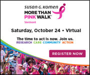 Komen Vermont - 2020 Virtual More Than Pink Walk