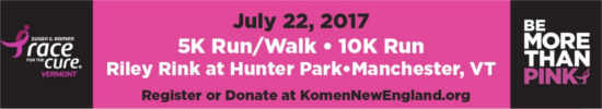 Komen Race for the Cure - Vermont