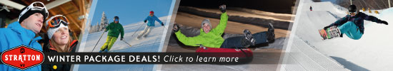 Discover the best seasonal package deals at Stratton Mountain Resort