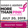 Komen Vermont MORE THAN PINK Walk - Manchester, VT