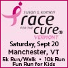 Race for the Cure - an Annual Event to help support the Susan G. Komen Breast Cancer Foundation